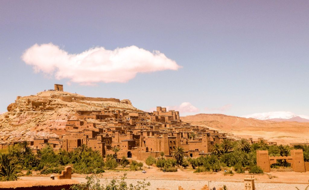 Essos of Game of Thrones film location at Morocco