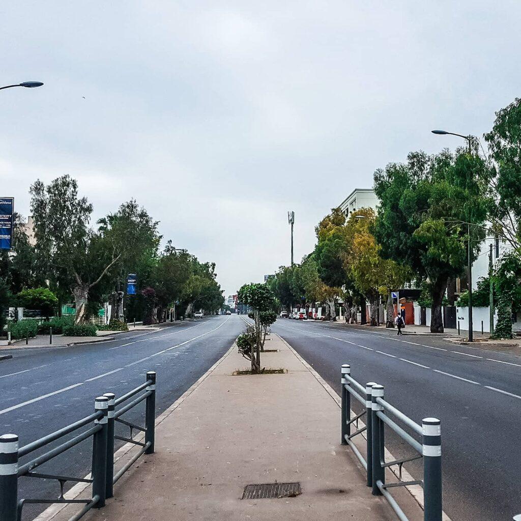 Quiet Casablanca Street
